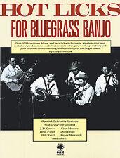 Hot Licks Bluegrass Banjo Music Book Trischka Scruggs