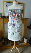 *BNWT*MONSOON CHATSWORTH DRESS* SZ 18* FLORAL BEADED STRAPS MOB BRIDAL £149
