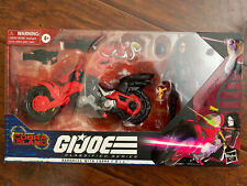 G.I. Joe Classified Cobra Island Baroness C.O.I.L. Motorcycle Bike Lot Trooper
