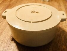 Littonware Dutch Oven 5 Quart Microwave Bowl With Lid 38808 & 38809 Vintage
