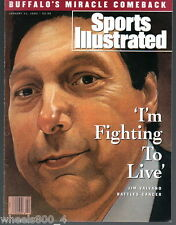 Sports Illustrated 1993 Jim Valvano Fighting to Live North Carolina State No Lbl