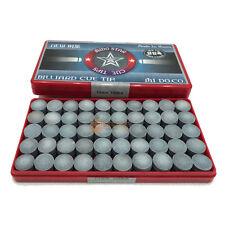 100 pcs [MIDO] 13mm Thermo compression Cue Tips Billiards Pool Cue Snooker KOREA
