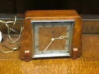 Vintage Temco Electric Mantel Clock for Parts or Repair [6698]