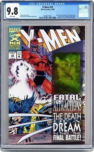 X-Men #25A CGC 9.8 1993 3853677018