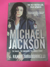 BOOK LIBRO MICHAEL JACKSON The magic madness the whole story PAN no cd lp mc dvd