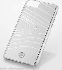 Mercedes Benz original Booktype / funda para Samsung Galaxy S8 piel azul