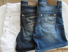 Seven7  Embroidered Jean Shorts 3 washes  Women's Sz 4-14  NWT MSRP$49 AWESOME