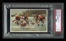 PSA 5 LIEBIG HOCKEY CARD 1940 Advertising Tradecard HIGHEST EVER GRADED 1/1