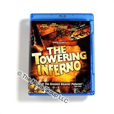 The Towering Inferno Blu-ray New Steve McQueen Paul Newman Faye Dunaway