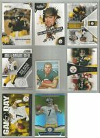 Ben Roethlisberger Pittsburgh Steelers 8 card 2010-2011 insert lot-all different
