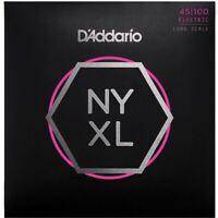 D'Addario NYXL 45100 Regular Light Electric Bass Guitar Strings 45-100 NYXL45100
