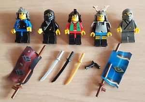 Lego System Ninja 4805, Figuren