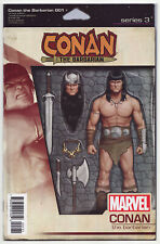 CONAN THE BARBARIAN #1 Christopher Action Figure Variant NM