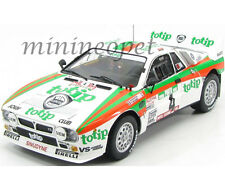 KYOSHO 08302E LANCIA RALLY 037 TOTIP 2nd RALLY PORTUGAL 1985 1/18 #4 WHITE