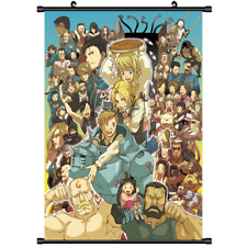 Anime Fullmetal Alchemist Brotherhood wall Poster Scroll cosplay 3222