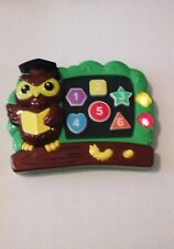 Teaching Owl Electronic Learning System Game Teaches Numbers, Shapes Preschool