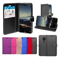 Case For Nokia 7.2 2019 Wallet Flip PU Leather Stand Card Slot Pouch Phone Cover