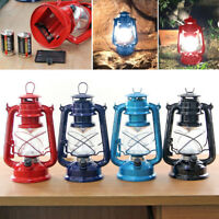 Vintage Dimmable Lantern 15 LED Carry Lamp Tent Light Camping Indoor Outdoor