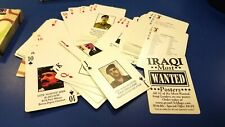 Set of Iraq War Iraqi Most Wanted playing Cards NEW Hoyle