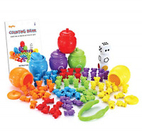 Counting Bears Set with Matching Sorting iufvbgxdh 71pcs Rainbow Counting Bears