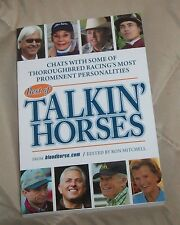 THOROUGHBRED RACING Race Horse Book * BAFFERT * PLETCHER * GARY STEVENS * & more
