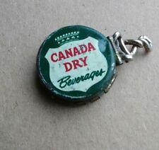 CANADA DRY BEVERAGES RESEALABLE SODA POP BOTTLE CAP