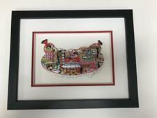 "Charles Fazzino 3D Artwork ""From Hot Pastrami to Cold Salami"" Signed & Numbered"