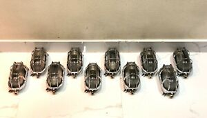 Aluminum Ship Nautical Antique Wall Marine Passageway Oval Light New 10 Piece