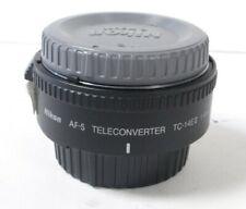 Nikon TC-14E11 AF S Teleconverter  Nikon AF S Converter  Nikon TC14E converter