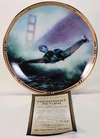 1996 Hamilton Star Trek Triumphant Return Klingon Bird Limited Edition Plate