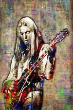 Gregg Allman Of The Allman Brothers Poster Gregg Allman 20x30in Poster Free Ship