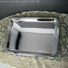 Small Silver Platter From Italy