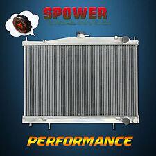 For NIissan Skyline R33 R34 GTST GTR RB25DET MT Aluminum Radiator 1995-2003 +Cap