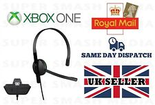 Official Genuine Xbox One Chat Headset Headphones with Mic