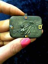 WW I1914 Allied Great Britain,Belgium ,Russian Empire French Silver medal badge