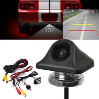 HD 170° 12V Vehicle Car Night Vision Rear View Reverse Backup Parking Camera Cam