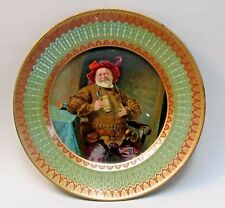 "c.1905 FALSTAFF Red Hat Vienna Art Plates 10"" tin tray Bentz Druggist Pottsdown"