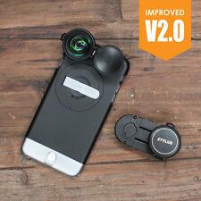 Ztylus Z-PRIME Metal Black Camera Case + 4K HD Lens Kit for iPhone 6 Plus 6S-P