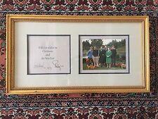 1979 Christmas Card Queen Elizabeth II, Signed Lilibet, Gary E. Combs Autographs