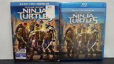 ** Teenage Mutant Ninja Turtles (Blu-ray + DVD, 2014) - Megan Fox - Ships Free!