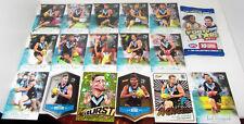 PORT Adelaid 2018 Team cards lot AFL Select Footy Stars Starburst A Grader Power