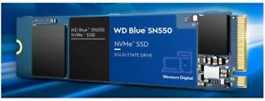 2TB WD Blue SN550 NVMe Internal Solid State Drives M.2 2280 3D NAND