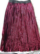 Zara Velvet Skirt Size S