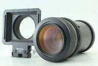 [N MINT] MAMIYA Sekor Zoom Z 100-200 mm F/5.2 W Lens + Bellows Hood from JAPAN