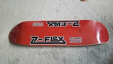 """Z-Flex Jay Adams RED POOL Dogtown old school deck 9 X 33 """" Skateboard longboard"""