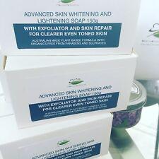3 x AUSTRALIAN MADE SKIN Whitening & LIGHTENING Soap face and body