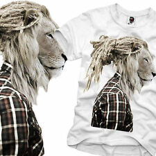 E1SYNDICATE T SHIRT RASTAFARI LION HIPSTER DOPE WASTED YOUTH DOPE DC S/M/L/X/XXL
