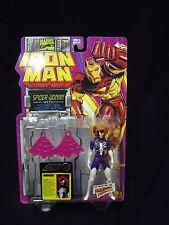 "MARVEL COMICS IRON MAN ""SPIDER WOMAN"" FIGURE 1994 TOYBIZ MIB"