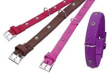 Colliers violets Karlie en cuir pour chien