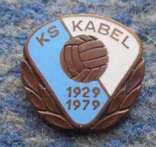 KABEL KRAKOW 50 ANNIVERSARY(1929-1979) FOOTBALL SOCCER FUSSBALL ENAMEL PIN BADGE